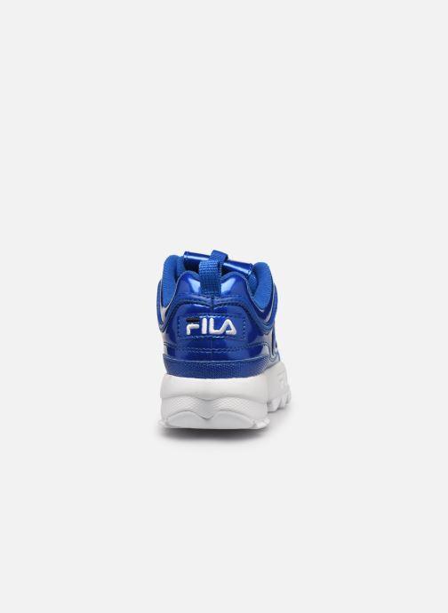 Sneaker FILA Disruptor M Kids blau ansicht von rechts