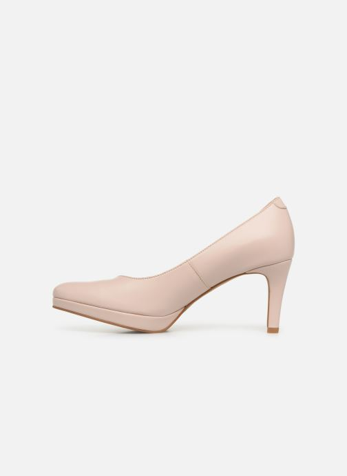 Zapatos de tacón Georgia Rose Tavaria Beige vista de frente