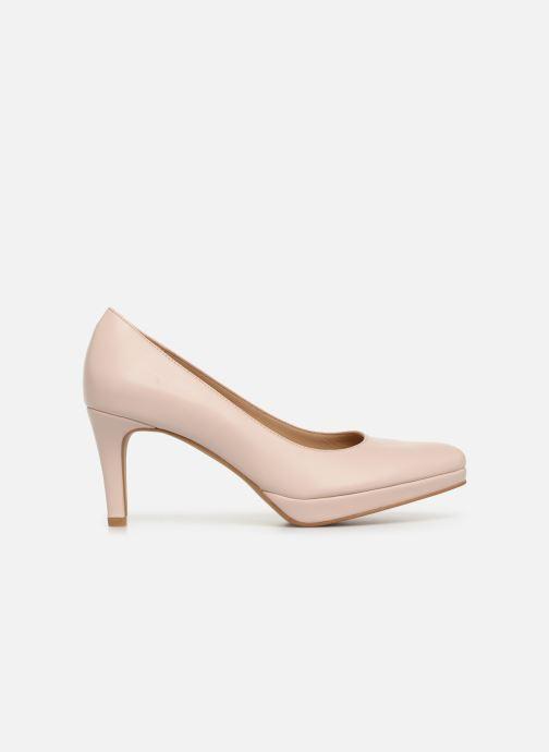 Zapatos de tacón Georgia Rose Tavaria Beige vistra trasera