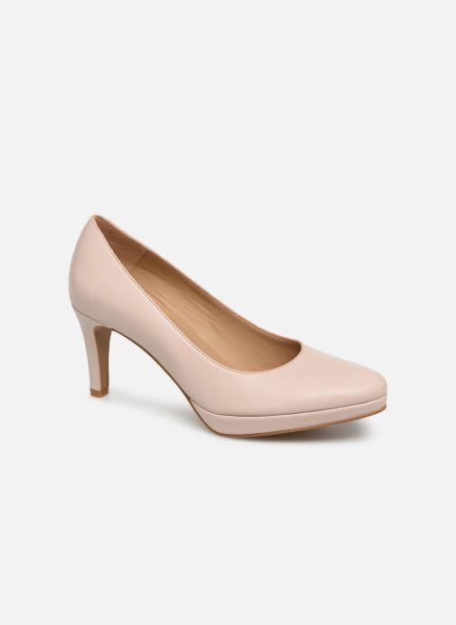 Høje hæle Georgia Rose Tavaria Beige detaljeret billede af skoene