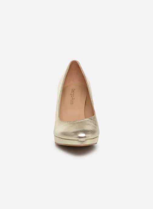 Zapatos de tacón Georgia Rose Tavaria Oro y bronce vista del modelo