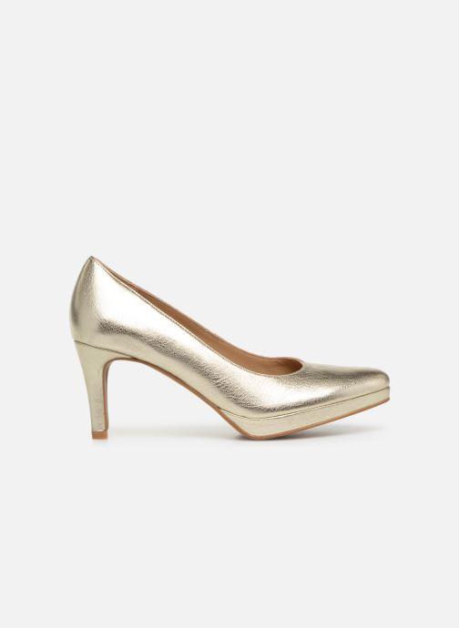 Zapatos de tacón Georgia Rose Tavaria Oro y bronce vistra trasera