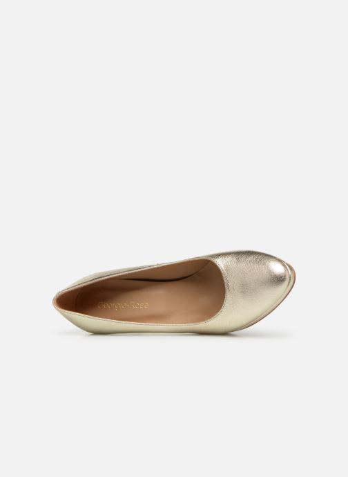 Zapatos de tacón Georgia Rose Tavaria Oro y bronce vista lateral izquierda