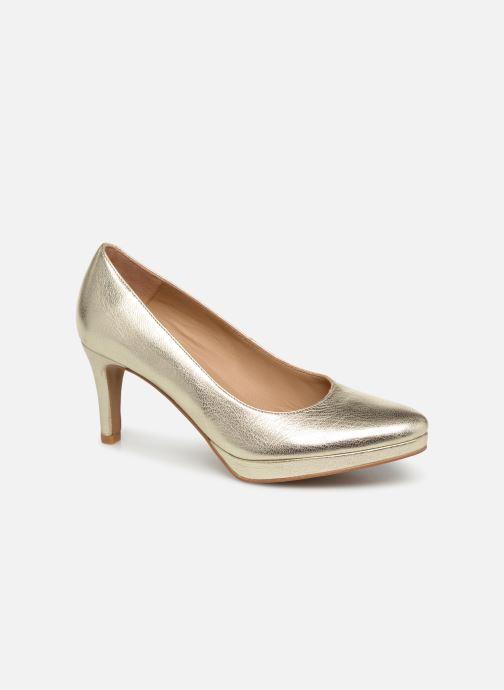 Zapatos de tacón Georgia Rose Tavaria Oro y bronce vista de detalle / par