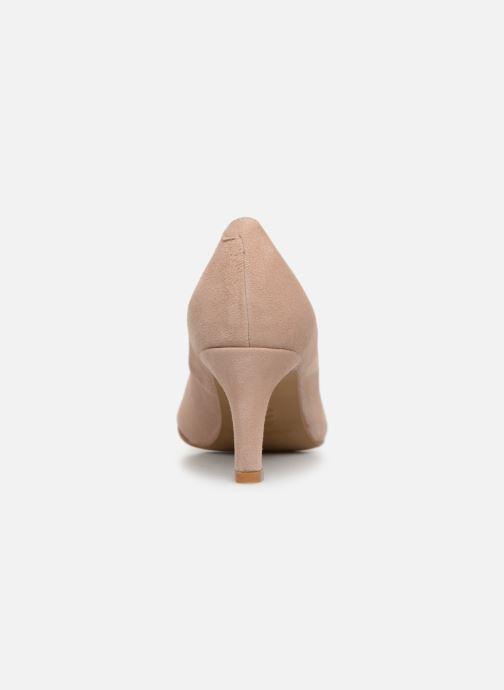 Zapatos de tacón Georgia Rose Teana Beige vista lateral derecha