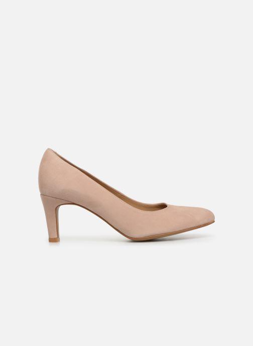 Zapatos de tacón Georgia Rose Teana Beige vistra trasera