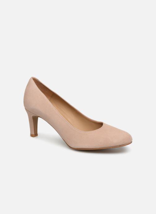 Zapatos de tacón Georgia Rose Teana Beige vista de detalle / par