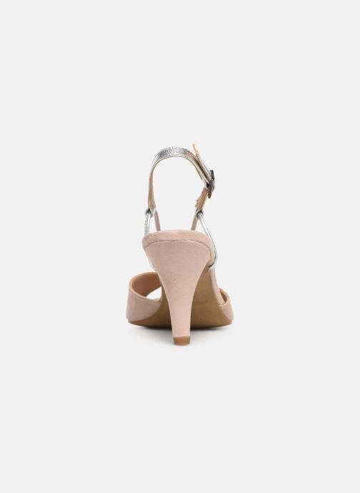 Sandales et nu-pieds Georgia Rose Tasulta Beige vue droite