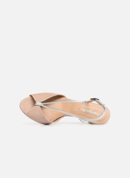 Sandales et nu-pieds Georgia Rose Tasulta Beige vue gauche