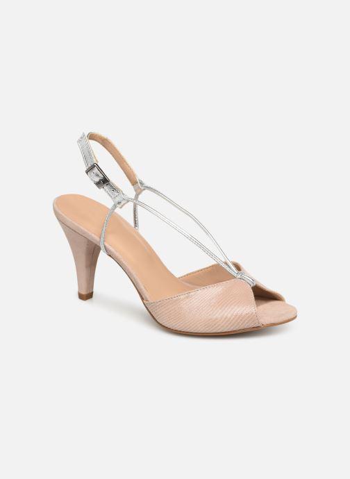 Sandaler Georgia Rose Tasulta Beige detaljeret billede af skoene