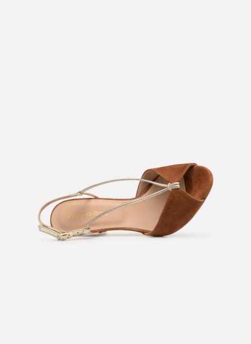 Sandales et nu-pieds Georgia Rose Tasulta Marron vue gauche