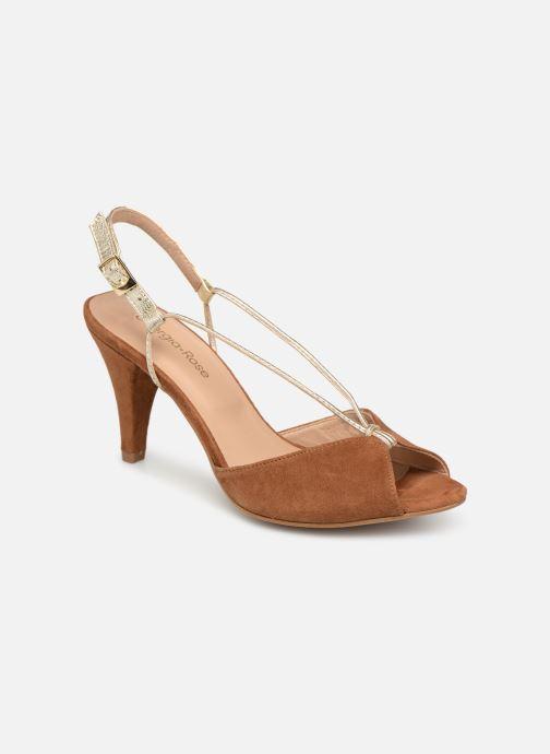 Sandales et nu-pieds Georgia Rose Tasulta Marron vue détail/paire