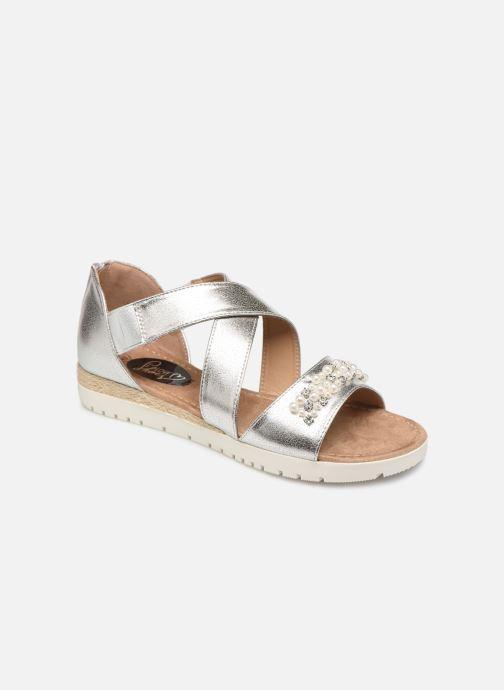 Sandales et nu-pieds I Love Shoes FIPEARL Size + Argent vue détail/paire