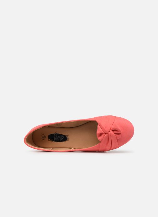 Ballerines I Love Shoes FINOEUD Size + Rose vue gauche