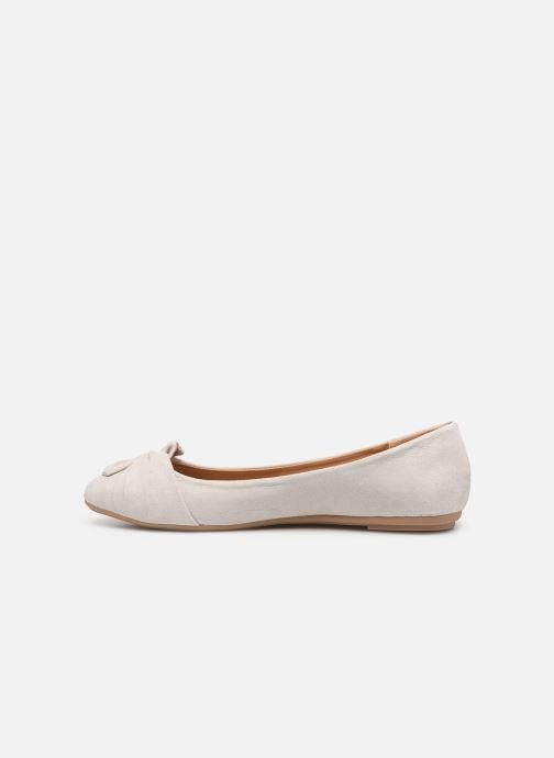 Ballet pumps I Love Shoes FINOEUD Size + Grey front view