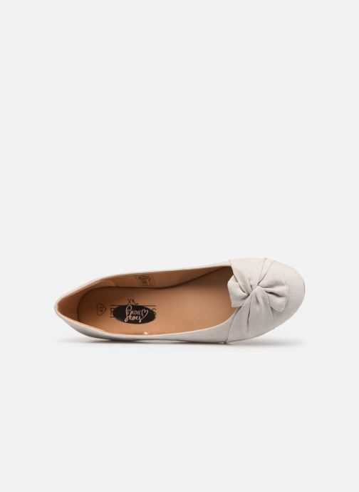 Ballet pumps I Love Shoes FINOEUD Size + Grey view from the left