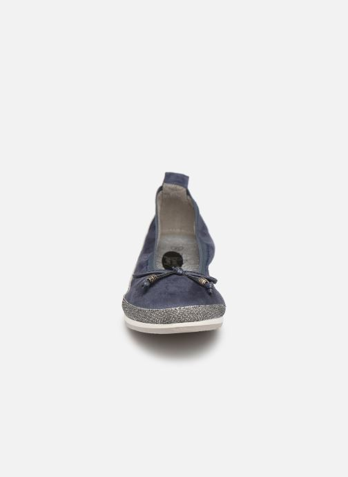 Ballerines I Love Shoes FILOU Size + Bleu vue portées chaussures