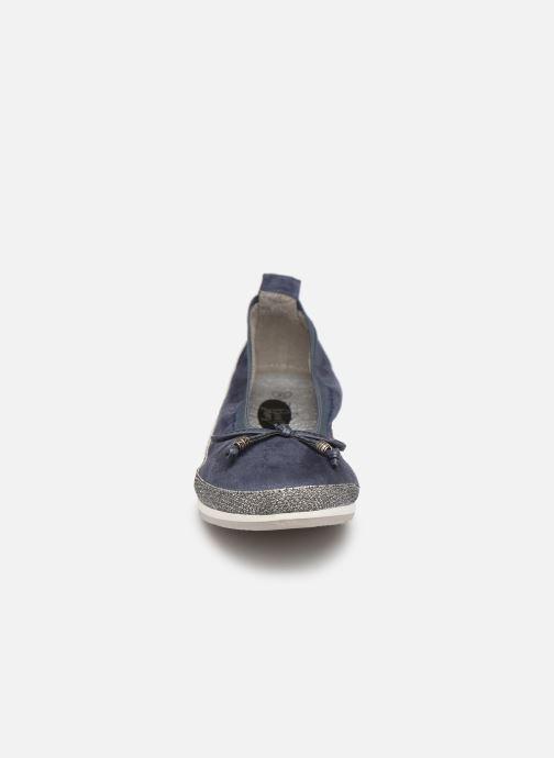 Bailarinas I Love Shoes FILOU Size + Azul vista del modelo