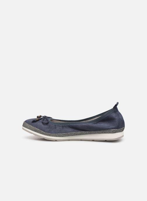 Bailarinas I Love Shoes FILOU Size + Azul vista de frente
