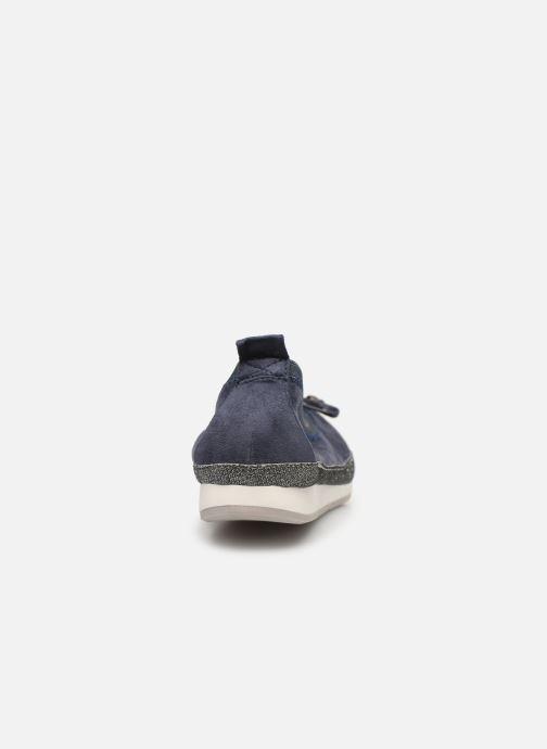 Bailarinas I Love Shoes FILOU Size + Azul vista lateral derecha