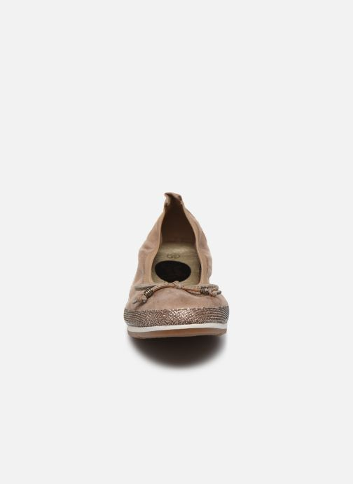 Ballerine I Love Shoes FILOU Size + Beige modello indossato