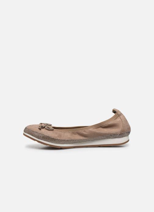 Bailarinas I Love Shoes FILOU Size + Beige vista de frente