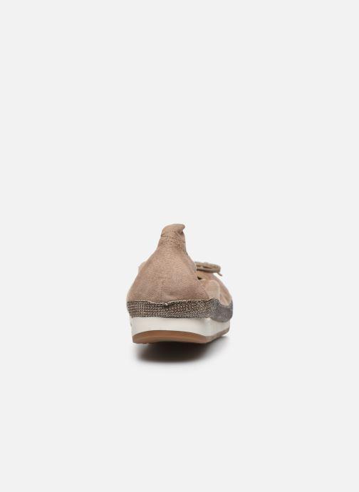 Bailarinas I Love Shoes FILOU Size + Beige vista lateral derecha