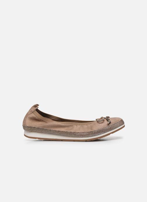 Bailarinas I Love Shoes FILOU Size + Beige vistra trasera