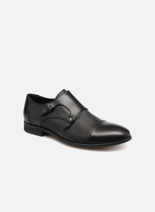 Mocassins Shoe the bear Monk L Zwart detail