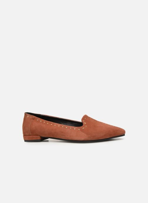 Mocassins Shoe the bear ZOLA LOAFER Bruin achterkant