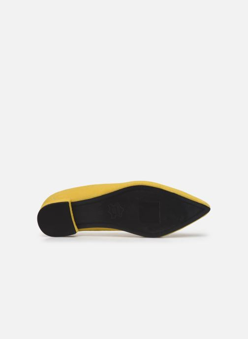 Mocassins Shoe the bear ZOLA LOAFER Jaune vue haut