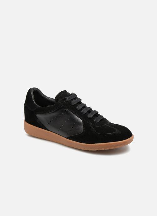 Sneakers Shoe the bear Li Lace up Zwart detail