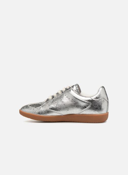 Sneakers Shoe the bear Li Lace up Zilver voorkant