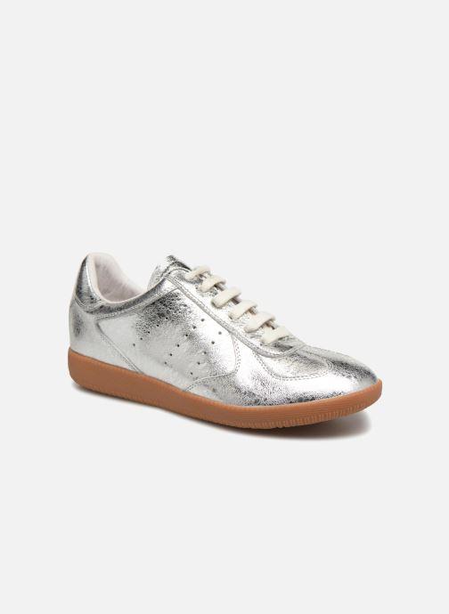 Sneakers Shoe the bear Li Lace up Zilver detail