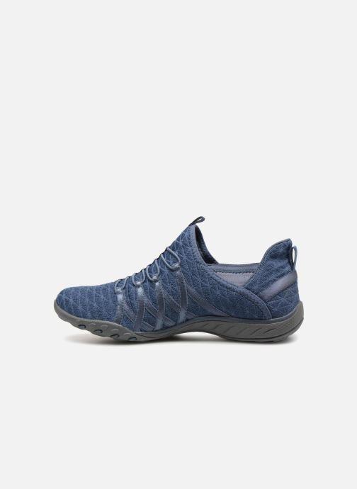 Sneakers Skechers Breathe-Easy-Viva-City Blå bild från framsidan