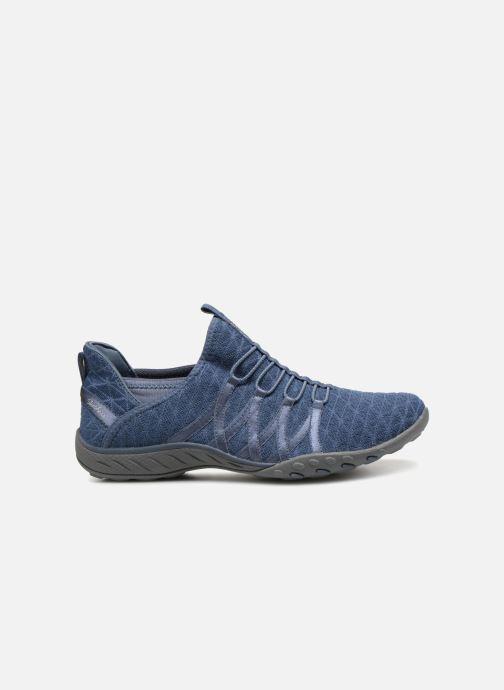 Sneakers Skechers Breathe-Easy-Viva-City Blå bild från baksidan