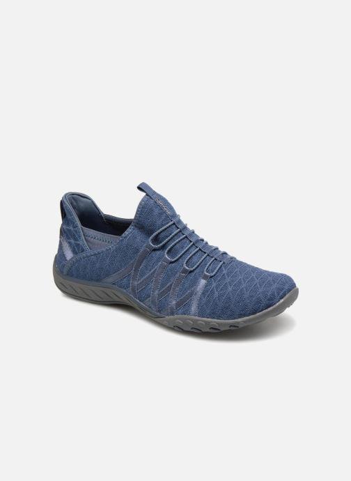 Baskets Skechers Breathe-Easy-Viva-City Bleu vue détail/paire