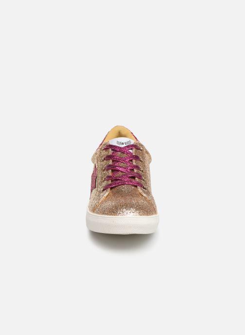 Baskets Kaporal Royal Or et bronze vue portées chaussures