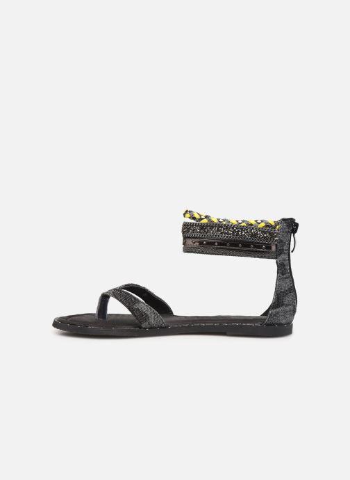 Sandales et nu-pieds Kaporal Thylia Noir vue face