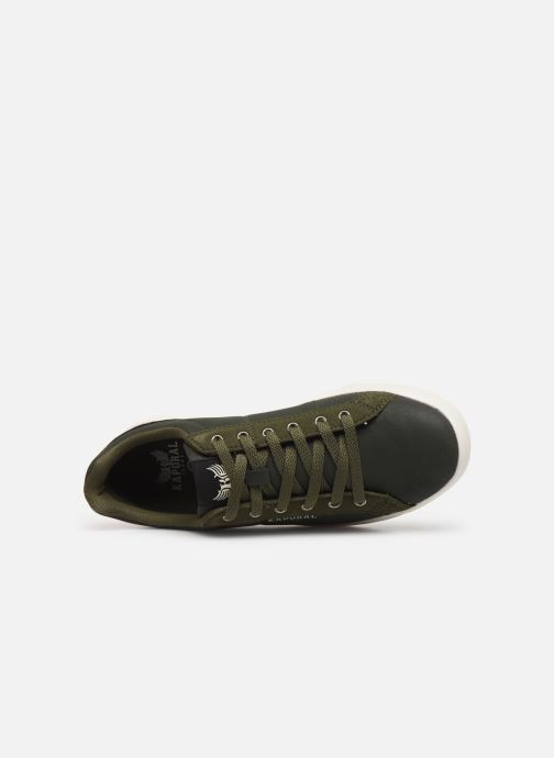 Trainers Kaporal Marvel Green view from the left