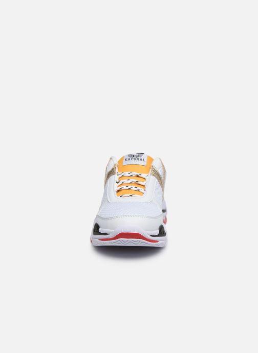 Sneakers Kaporal Matea Bianco modello indossato
