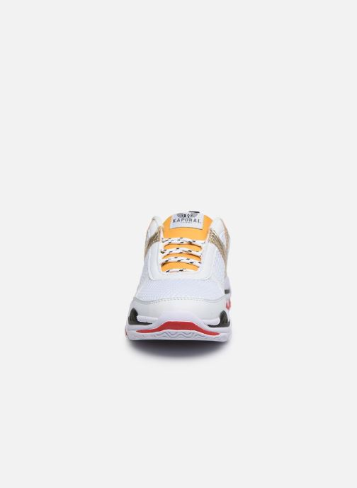 Baskets Kaporal Matea Blanc vue portées chaussures