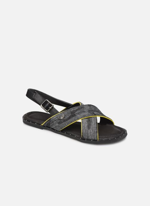 Sandals Kaporal Syntia Black detailed view/ Pair view