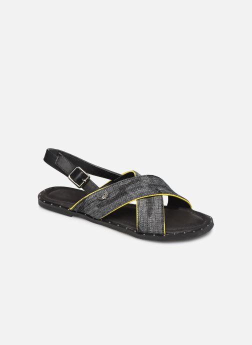 Sandales et nu-pieds Kaporal Syntia Noir vue détail/paire
