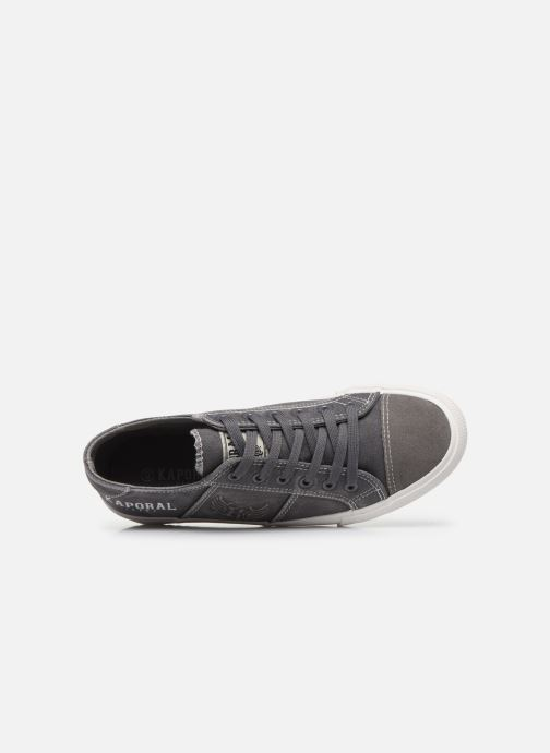 Trainers Kaporal Yariska Grey view from the left