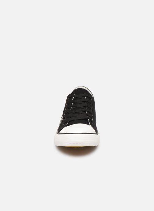 Baskets Kaporal Diry Noir vue portées chaussures