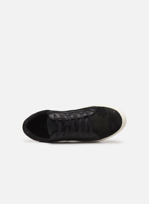 Trainers Kaporal Sanso Black view from the left