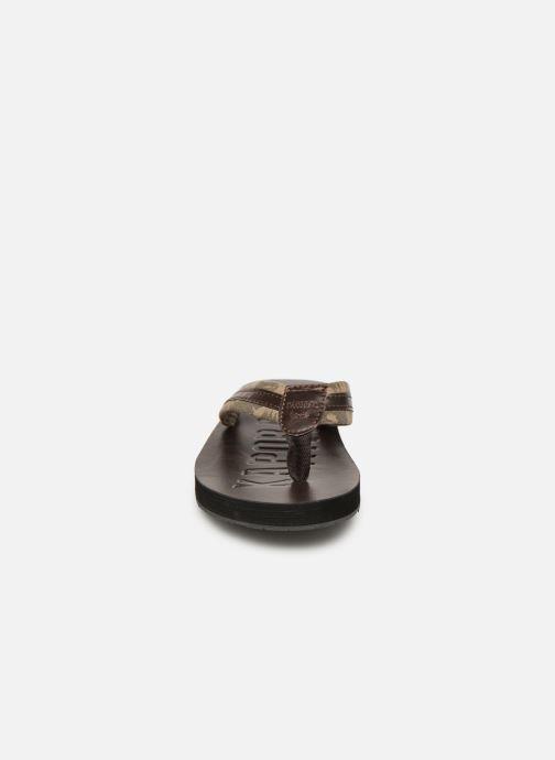 Infradito Kaporal Rable Marrone modello indossato