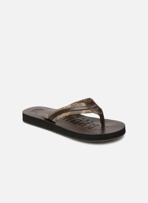 Flip flops Kaporal Rable Brown detailed view/ Pair view