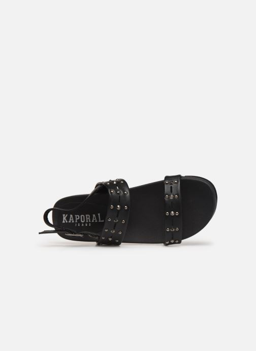 Sandals Kaporal Rosaria Black view from the left